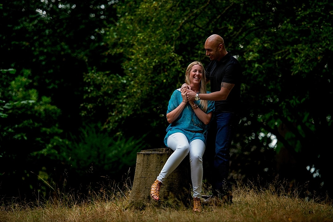 Richmond Park Engagement Photography