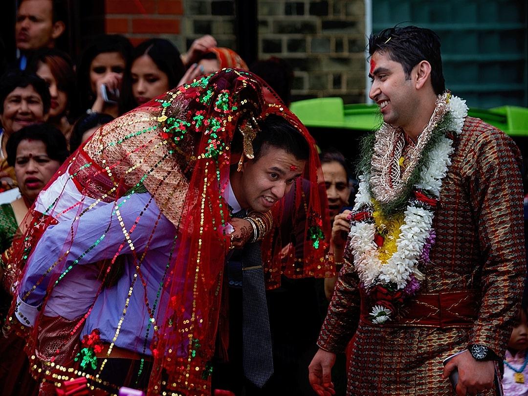 Nepalese Wedding Photography Puja