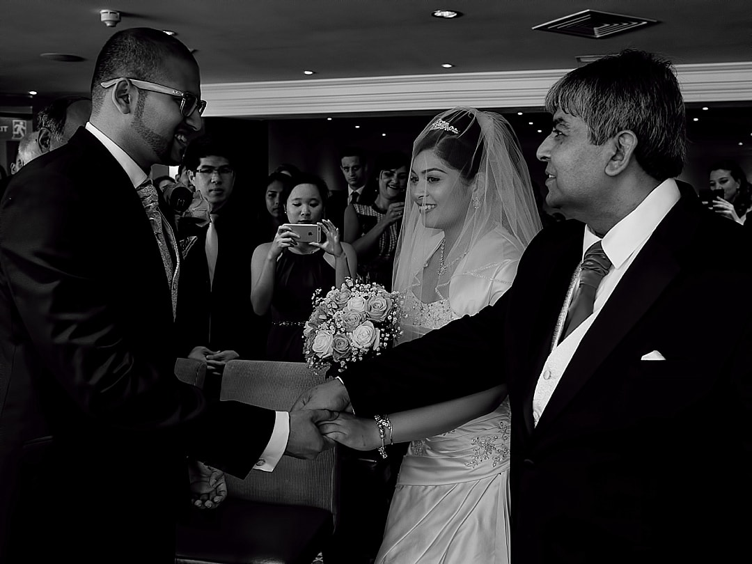 Guoman Hotel London Wedding Photographer Ceremony