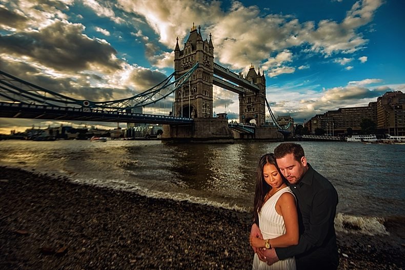 London Engagement Shoot London Wedding Photographer Tower Bridge