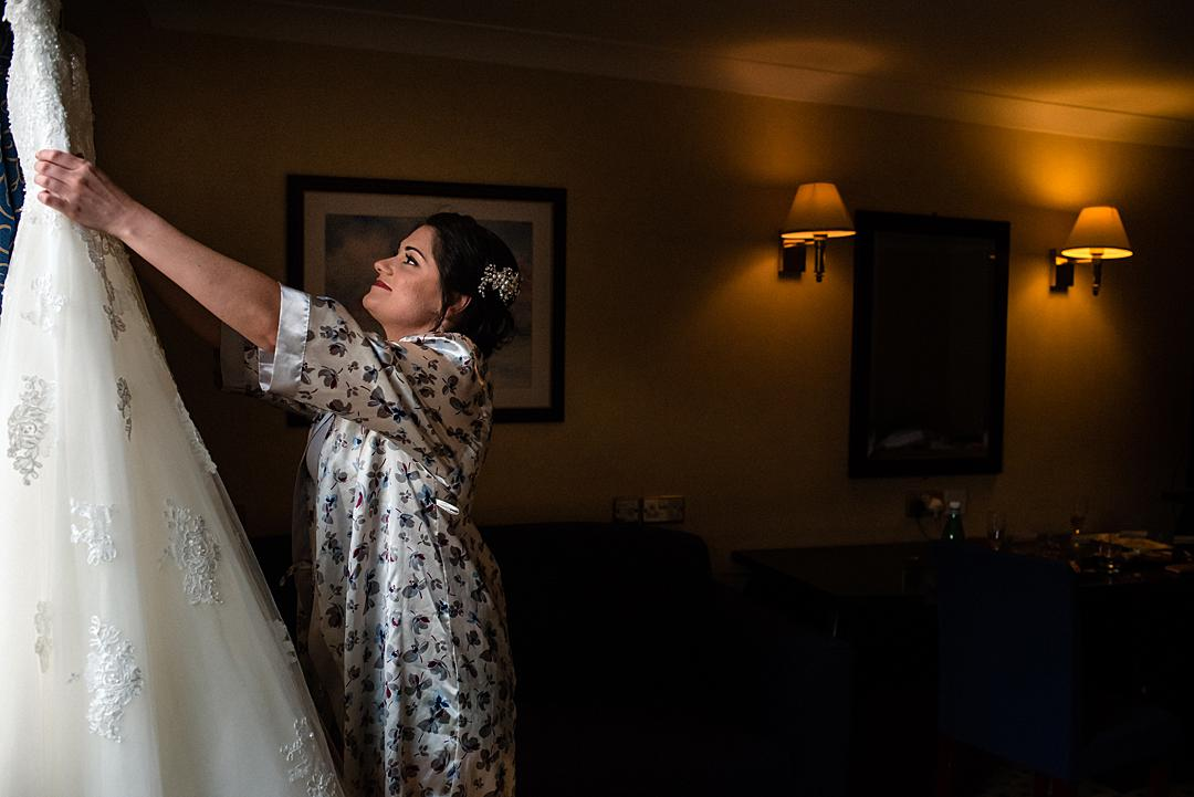 Bridal Prep at Basingstoke Hotel Crondall Wedding Photography Sneak Peek