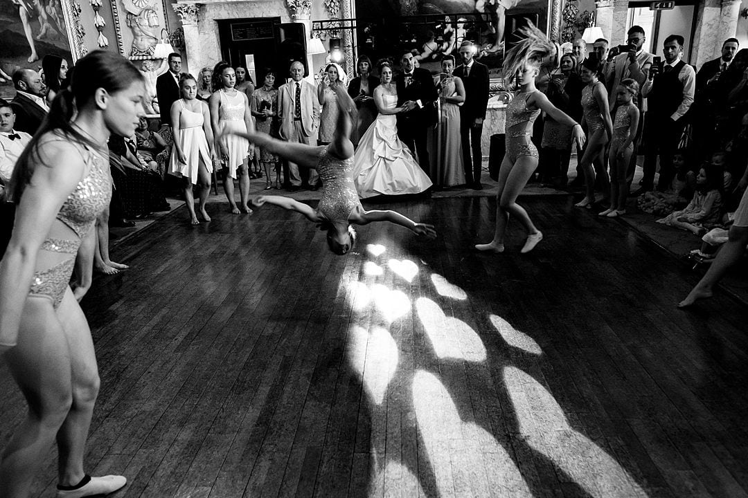 dancers at Moor Park Mansion