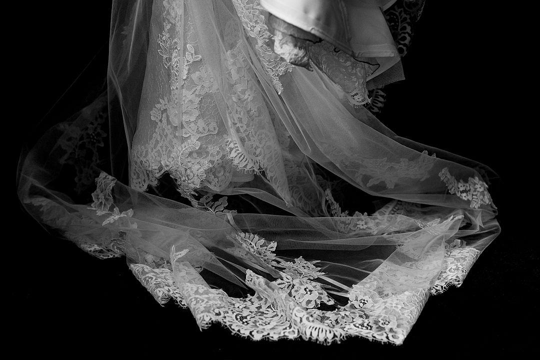 RAC Woodcote Park Wedding Photography The dress