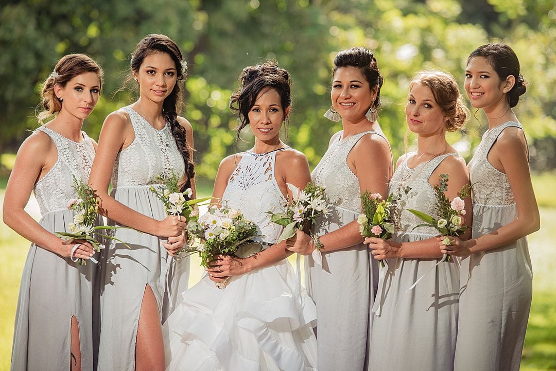 bridal portraits on moorea