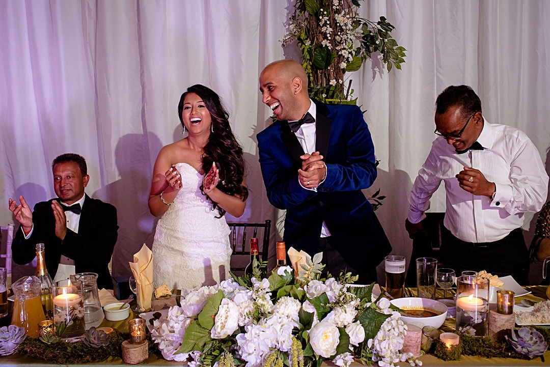 The Mere Wedding Photography funny moments during the speech